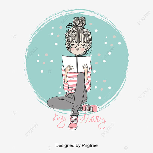 Cartoon Girl Png Images Vector And Psd Files Free Download On