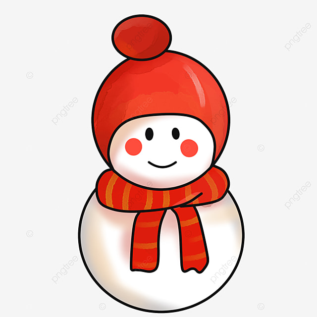 le petit bonhomme de neige l hiver l hiver no u00ebl image png