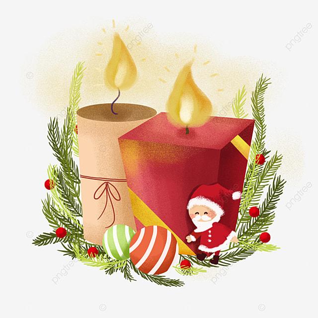 Velas de navidad invierno invierno navidad imagen png para - Clipart weihnachten ...