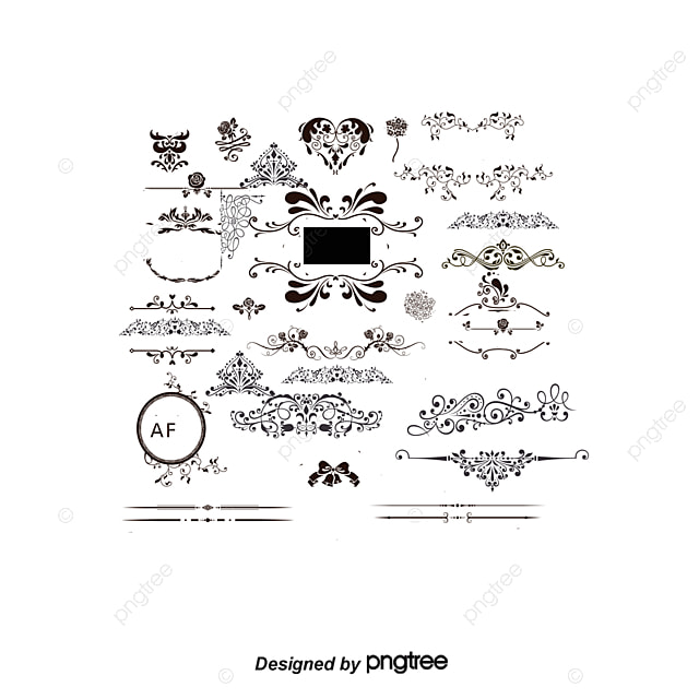 Vector wedding decorative pattern wedding romantic marriage png this graphic is free for personal use by joining our premium plan you can unlimited download similar images click here vector wedding decorative junglespirit Images