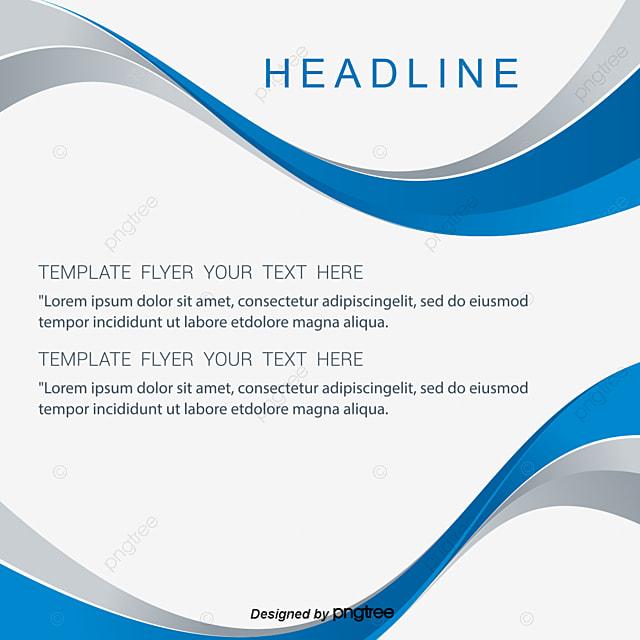 Curva de vectores de fondo de folletos, Curve Background, Foto ...