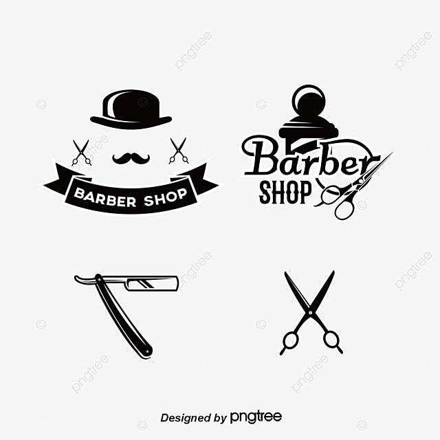 Ferramentas de cabeleireiro com logotipo Livre PNG e Vetor