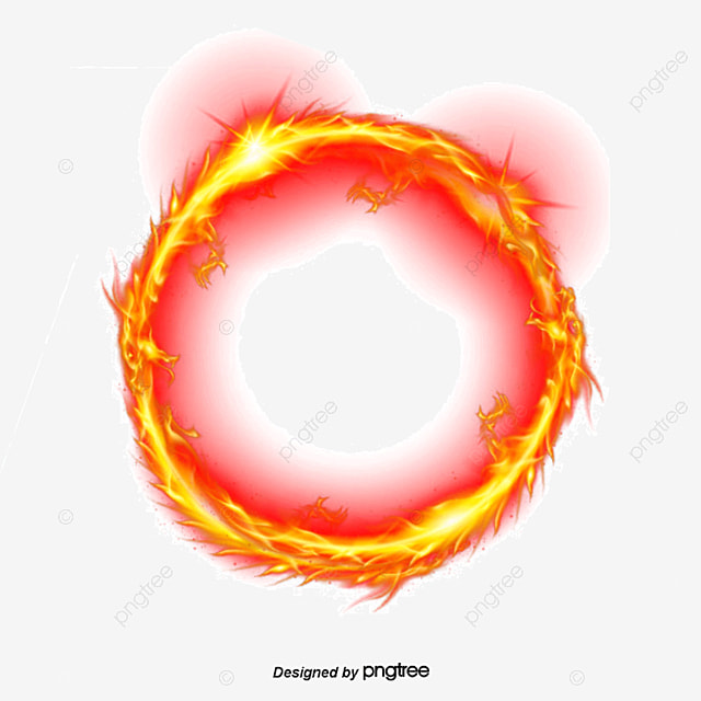 Good Vector Ring Of Fire, Ring Of Fire, Flame, Cartoon Flame PNG And Vector