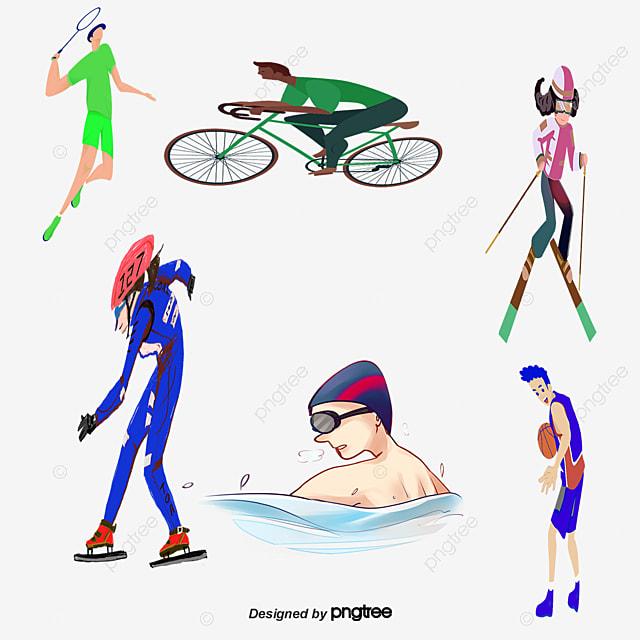 Vector De Deportes Para Niños Sports Kids Niño Los Niños De Dibujos ...