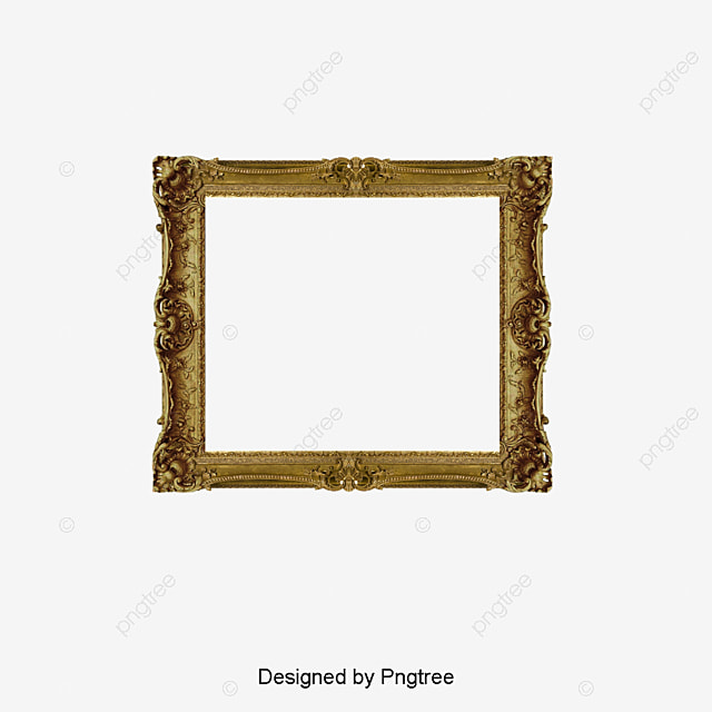 Gold Photo Frame, French Photo Frame, Frames, Frame Word PNG Image ...