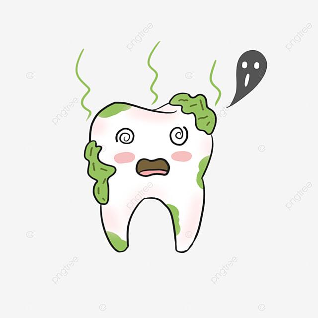 Le mat riau de dessin de la carie dentaire le mat riau de - Dessin de dent ...