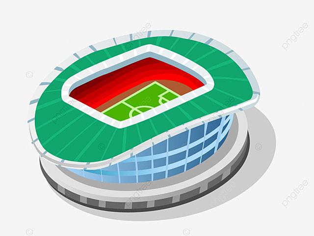 terrain de football terrain de football stade dessin