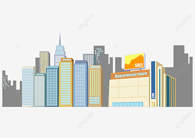 ville de vecteur d immeubles de grande hauteur maison ville construction png et vecteur pour. Black Bedroom Furniture Sets. Home Design Ideas