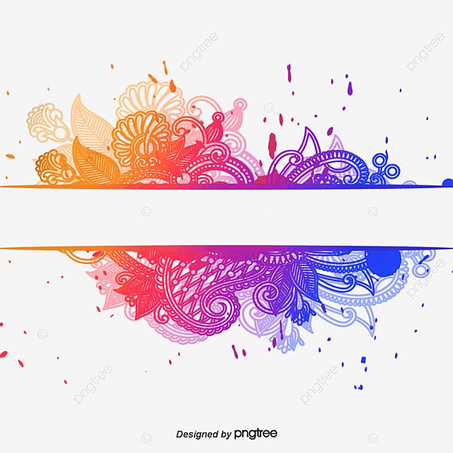 Lineas De Colores De Vectores Creative Color Línea PNG y Vector para ...