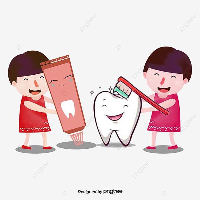 Vector brushing, Brush Teeth, Toothpaste, Toothbrush PNG ...