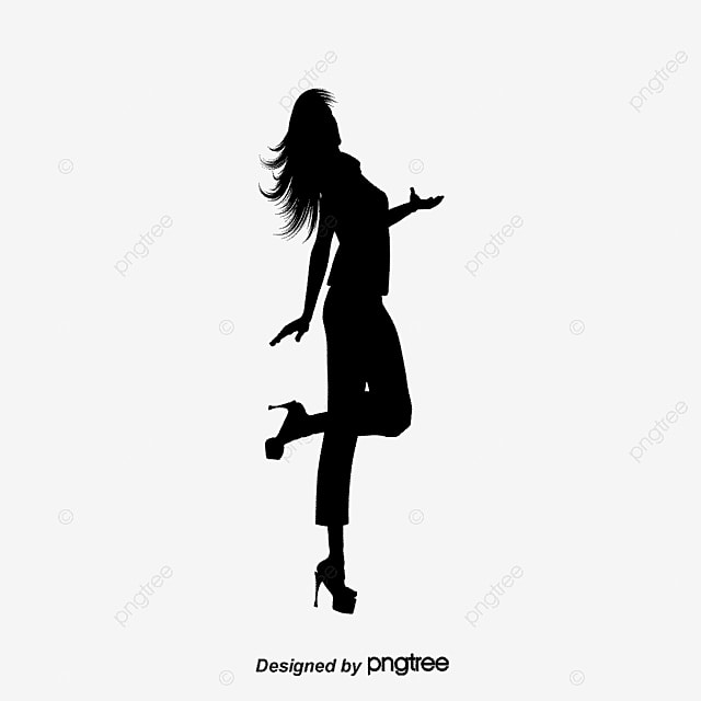 Vector Decorative Background With People Dancing