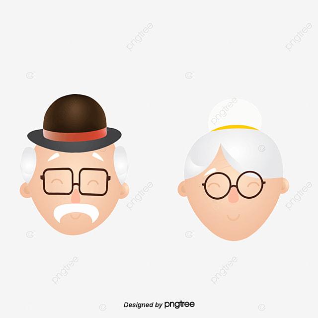 Los Abuelos Personas De Edad Personaje Abuelo PNG y Vector para ... ab6054b0c79c4