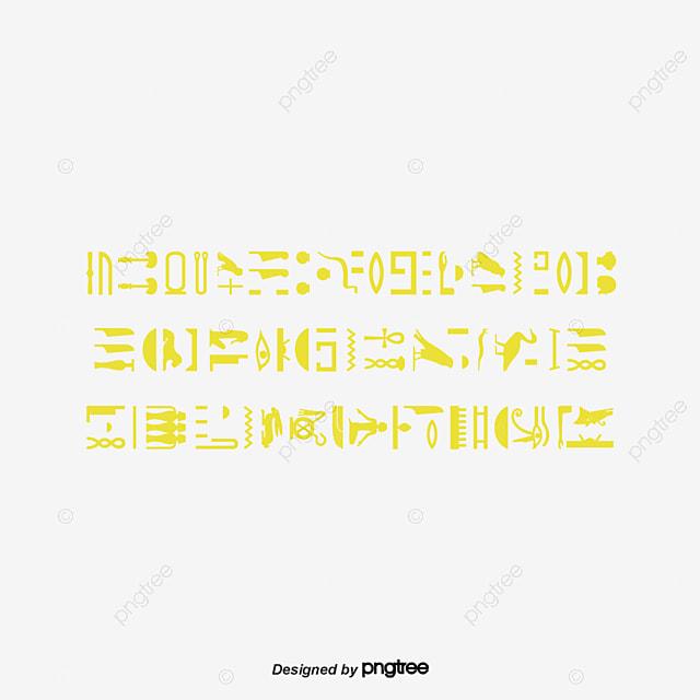 vector de hieróglifos egípcios hieróglifos a civilização vector png