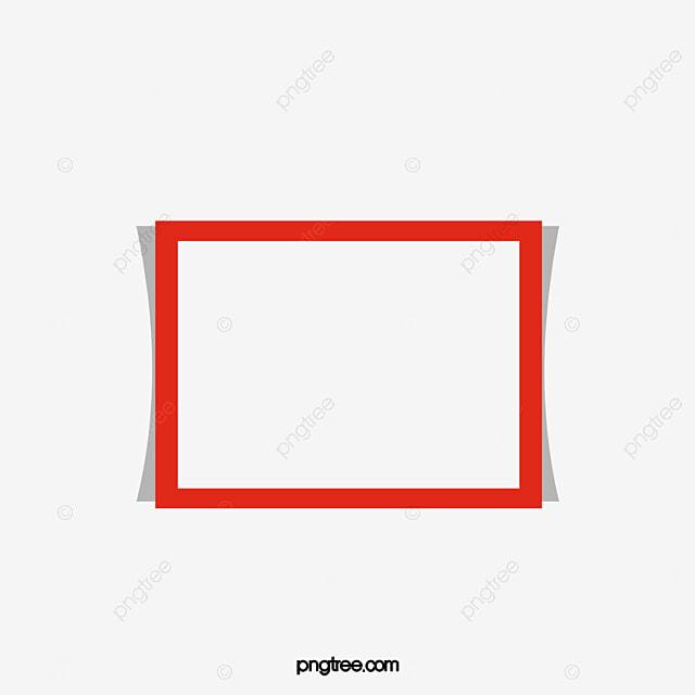 Red Frame, Frame Clipa...