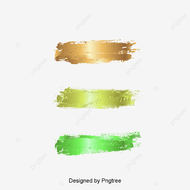 vector painted gold foil, Vector, Gold, Brushwork PNG and Vector for Free Download
