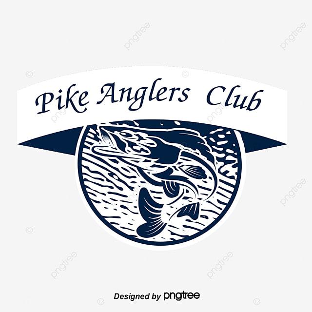 vector fishing club logo logo clipart sardine club logo