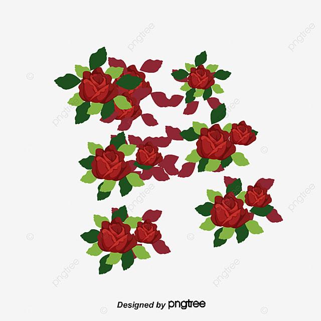 Beau Dessin Anime D Une Fleur Fleur De Fond Des Fleurs Roses Sans