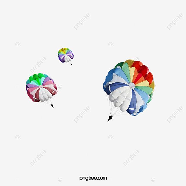Parachute Red Parachute Blue Parachute Purple Parachute