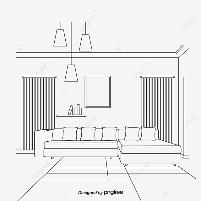 living room sketch sketch living room sofa png and vector for