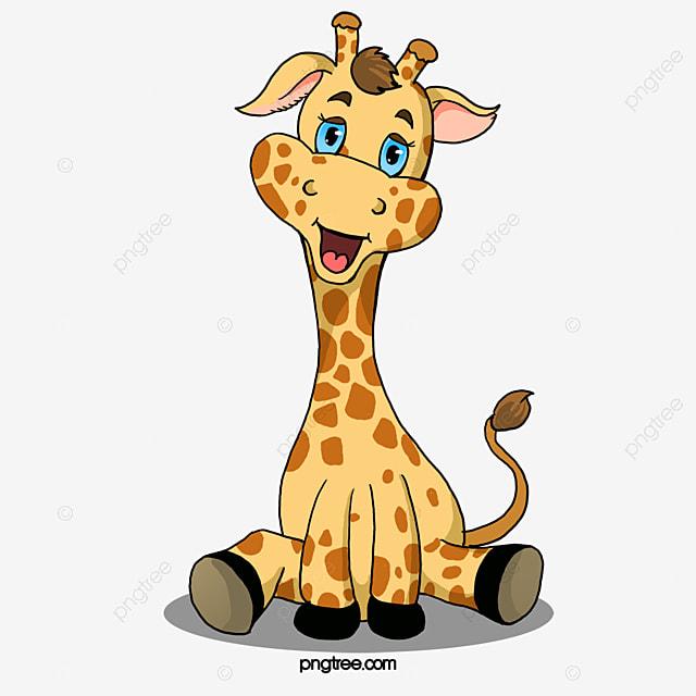 cute giraffe giraffe clipart cute clipart animal png image and rh pngtree com Cute Panda Clip Art Cute Pig Clip Art
