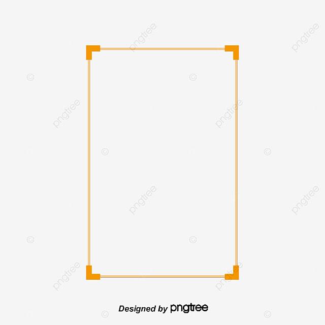 Creative Golden Frame, Gold Frame, Creative Frame, Frame PNG Image ...