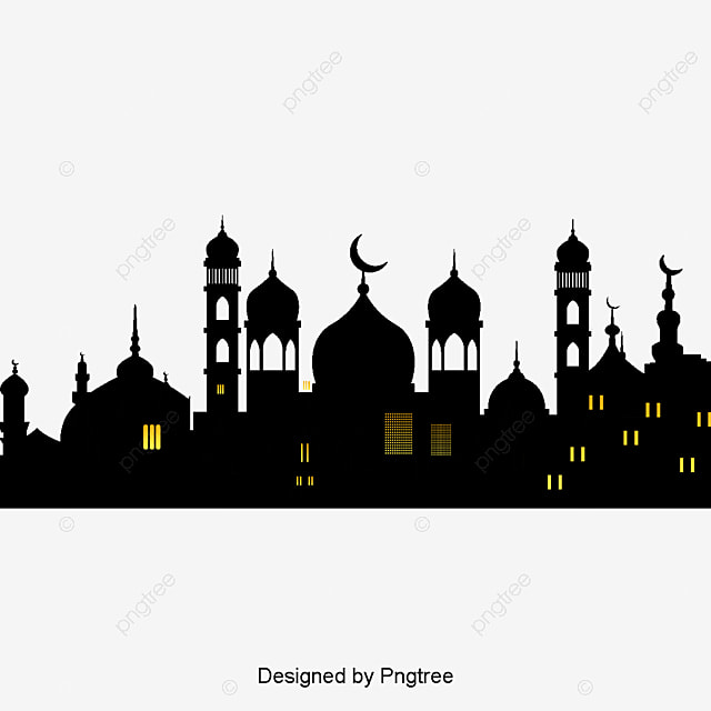 Vector Construction Icons And Religious Symbols Islam Vector
