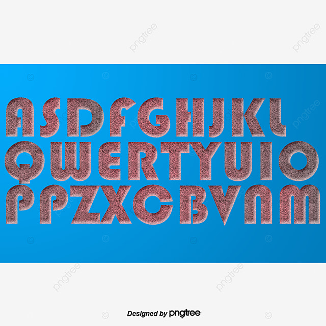 Cool Fonts English Effects Word Vector PNG And