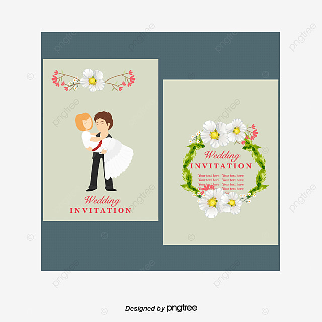 Wedding Invitation Template Free Download, Template, Marriage ...