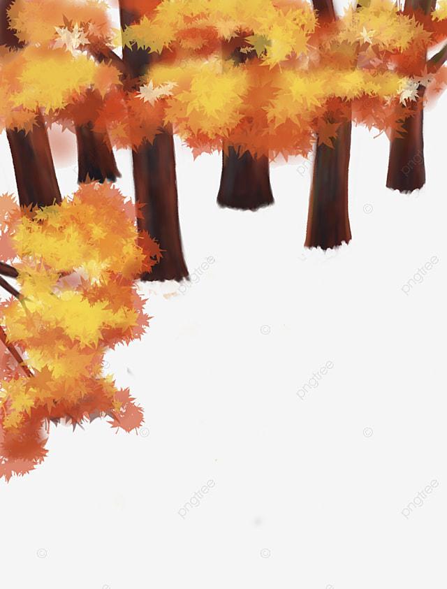 Картинки желтые осенние листья