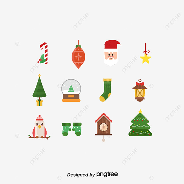 vector christmas icon flat  icon  christmas  sock png and Christmas Tree Silhouette Clip Art Christmas Tree Swirl Clip Art