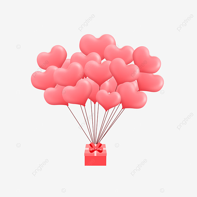 Gift With Balloons Gift Clipart Birthday Celebration