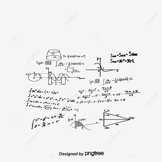 Fórmulas Matemáticas Imagen Nota Flotante, Float, Vector, Notas De ...