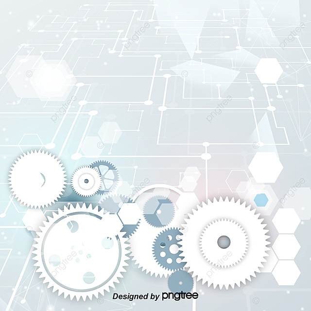 Beautifully gear background vector material, Fine, Gear, Technology Background PNG and Vector ...