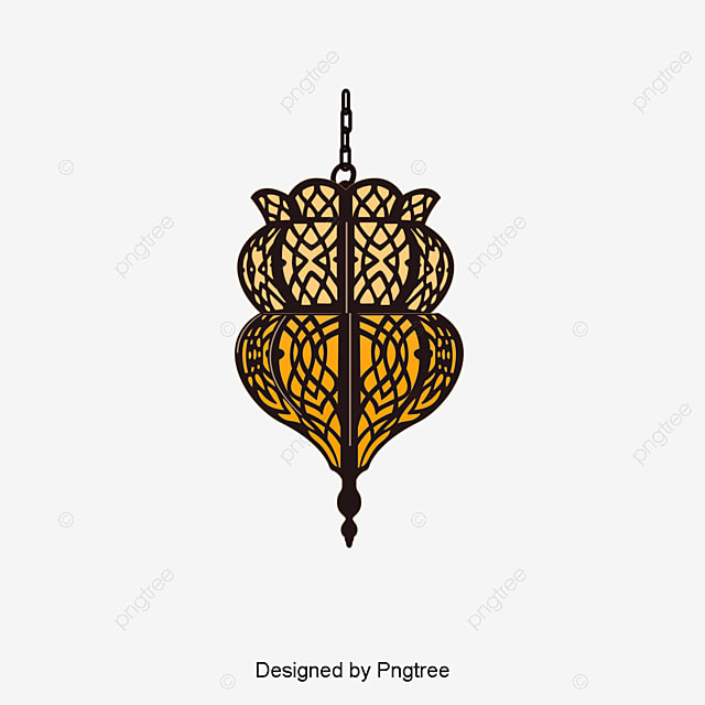 Islam Decorative Lamp Decoration Vector PNG And
