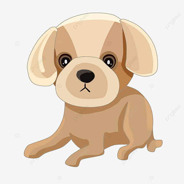 vector cute puppy cute clipart puppy clipart animal png and rh pngtree com Puppy SVG Free free puppy vector art