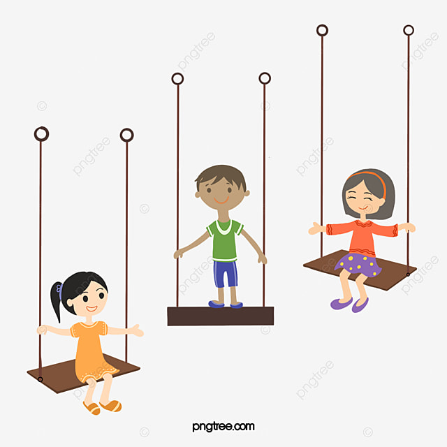 vector swing kids kids clipart swing boy png and vector for free rh pngtree com kids vector free kids victoria bc