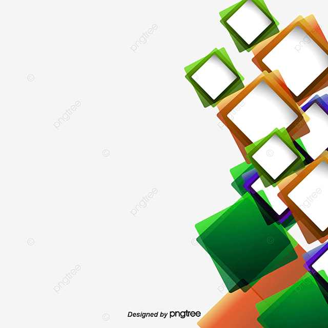 Vector Square Background, Hd, Vector, Concise PNG And PSD