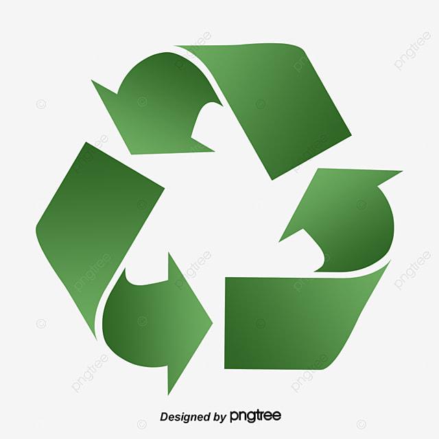 fl u00e8che vectorielle de recyclage ic u00f4ne forme peint  u00e0 la