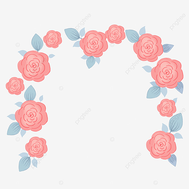 Flower Arches Flower Clipart Wedding Arch Png Image And