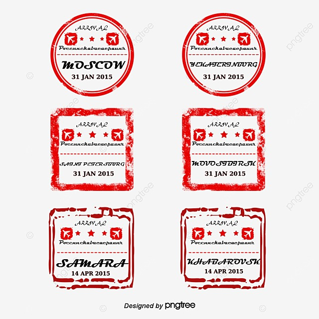 Vector Oval Stamp Travel Postmark Seal PNG And