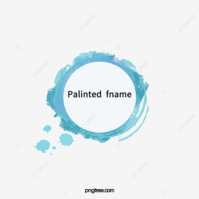 Vector Frames, Frames For Paintings, Round Frame, Vector PNG and ...