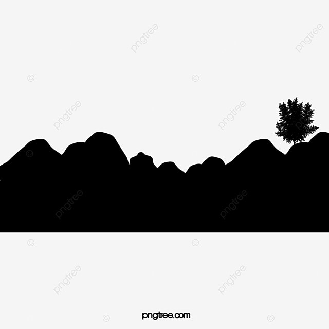 mountain silhouette Free PNG
