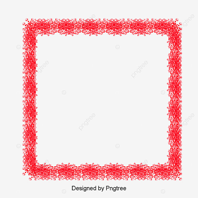 christmas border red christmas frame png and vector