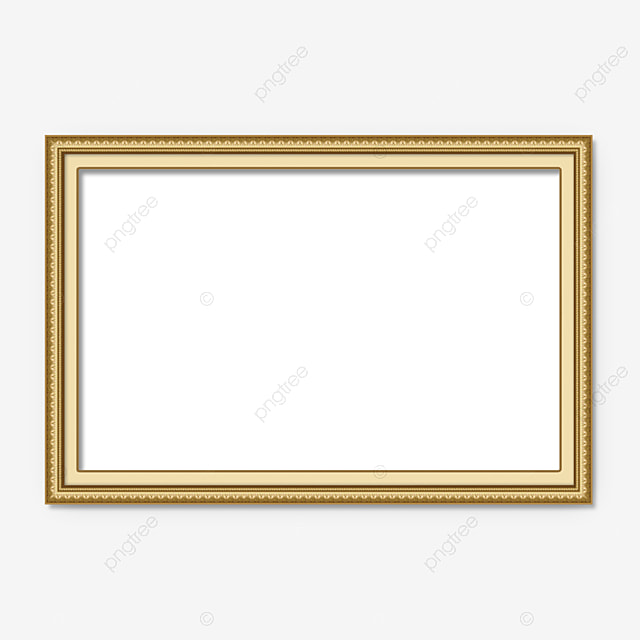 Golden Frame PNG Images | Vectors and PSD Files | Free Download on ...