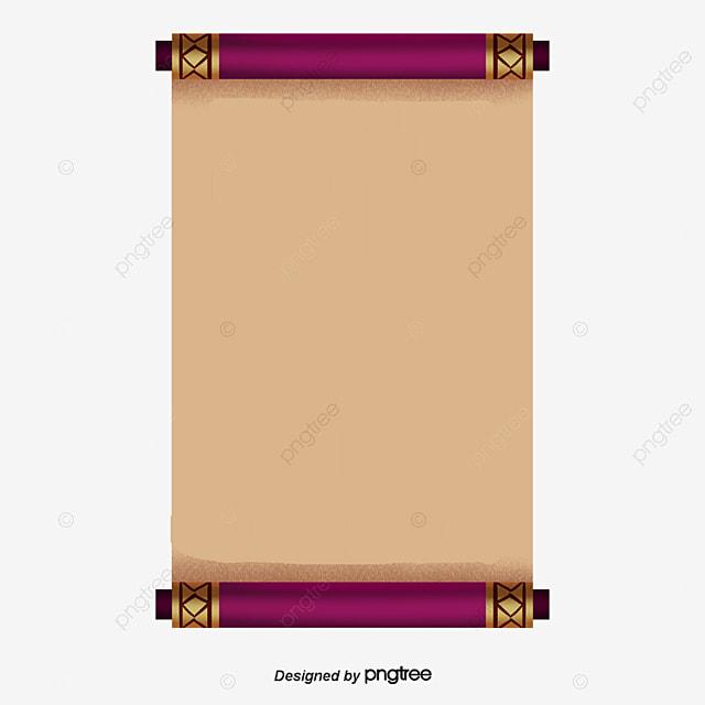 vector damaged parchment scrolls parchment scrolls reel parchment