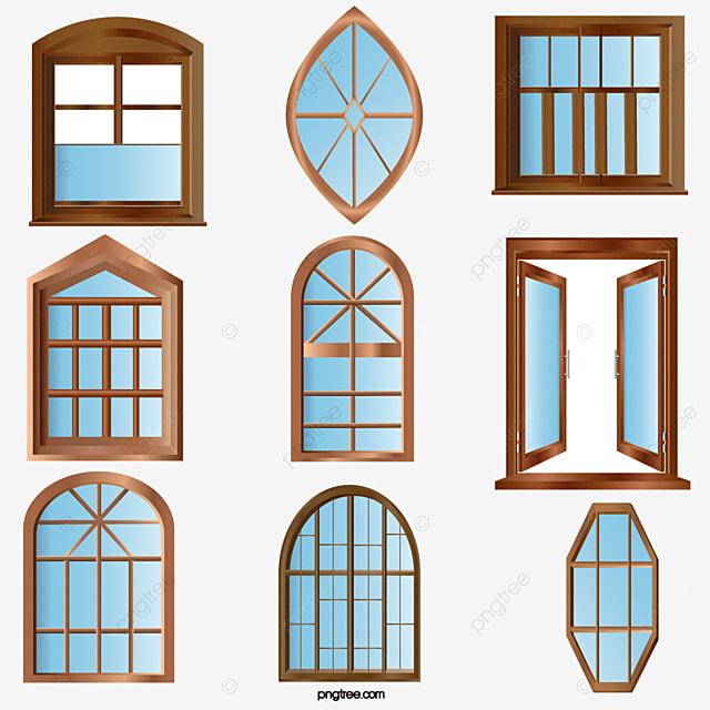 Material de vectores de puertas y ventanas puertas y for Pintura para marcos de puertas y ventanas