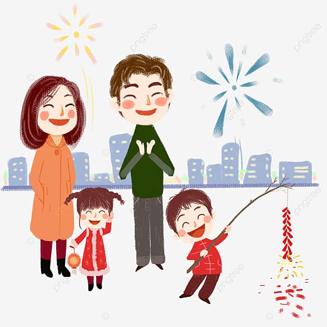 Clipart Famille une famille heureuse une famille la famille le bonheur image png
