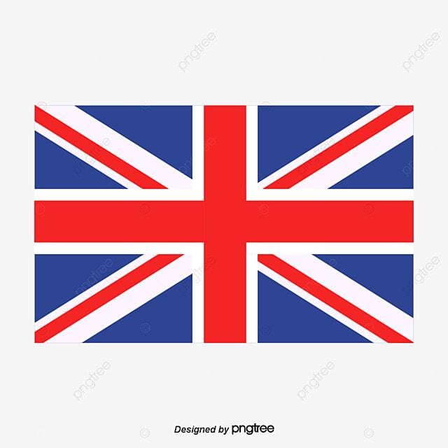 le drapeau britannique de vecteur de motif drapeau du
