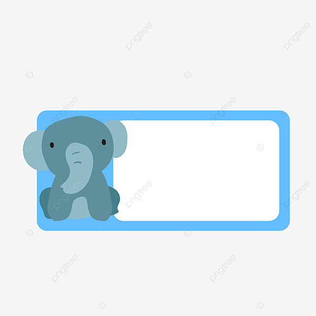 Vector Elephant Birthday Card Elephant Vector Birthday Vector