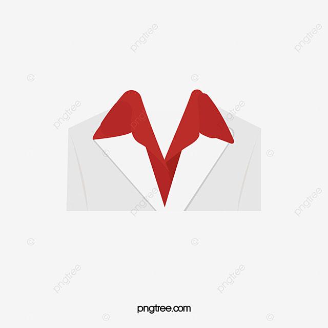 Белый костюм красная рубашка